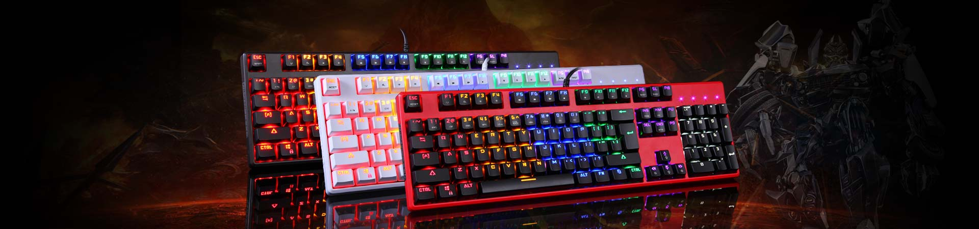 Motospeed LED Keyboards