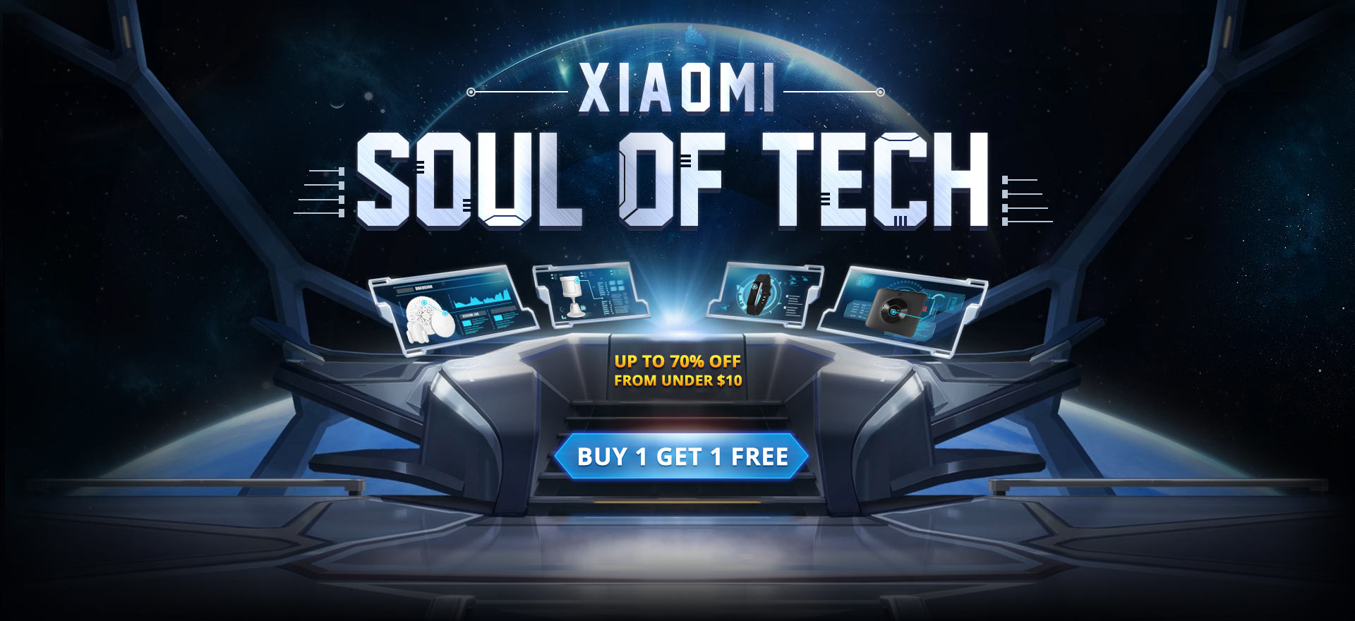 Xiaomi Promo BUY1 Get 1 for FREE from Gearbest