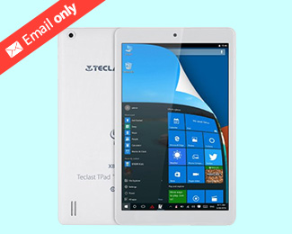 8 inch Teclast X80 Pro Tablet PC - WINDOWS 10 + ANDROID 5.1