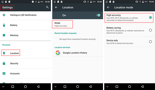 UMI Plus phablet GPS High Accurancy Mode Setting