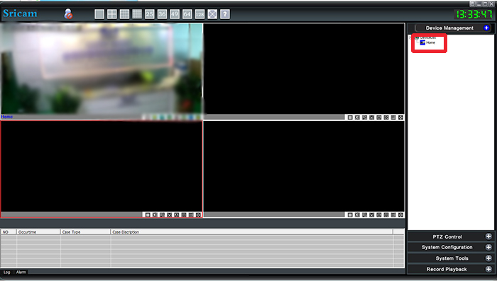 Watch live video on Device Viewer program