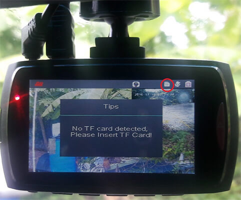 Dome G30B cannot detect TF card
