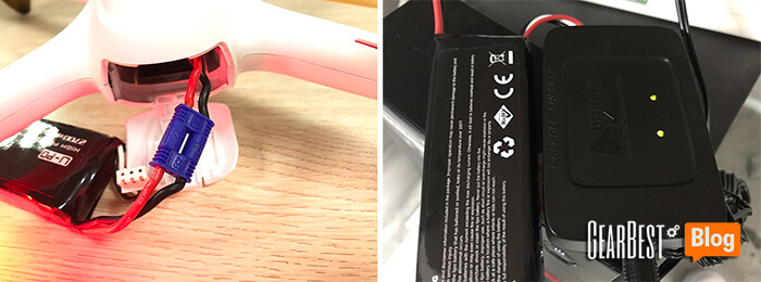 charge Hubsan H501S X4's battery