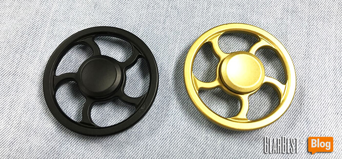 available colors of Wheel fidget spinner