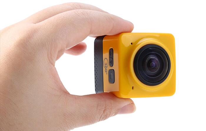 Cube 360 WiFi Action Camera