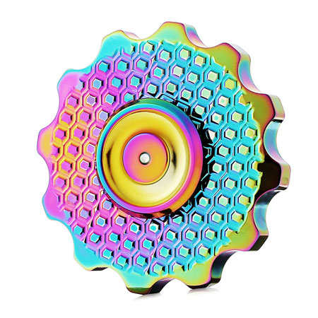 Gear Style Anti-stress Finger Spinner Toy
