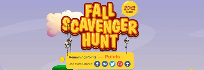 Fall Scavenger Hunt - Harvest Your Free Gift