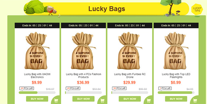 Lucky Bags - Worth Far More Than the Cost