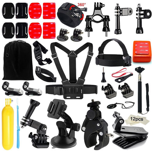 Universal Camera Accessory Kit for GoPro