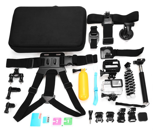 Sports Camera Accessory Kit for GoPro Hero 5