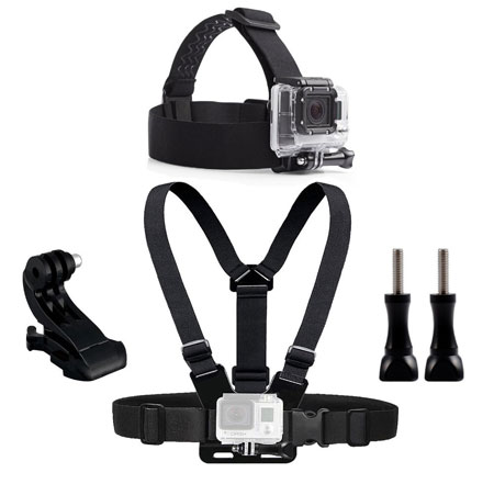 Accessory Kit for GoPro / SJCAM Action Camera