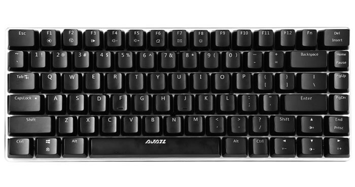 Ajazz AK33 Blue Axis Mechanical Gaming Keyboard