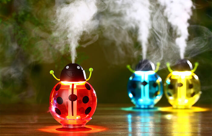 Creative Beetle Diffuser Spray Humidifier for Home Office