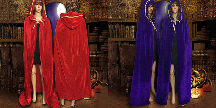 Halloween cloaks for adult