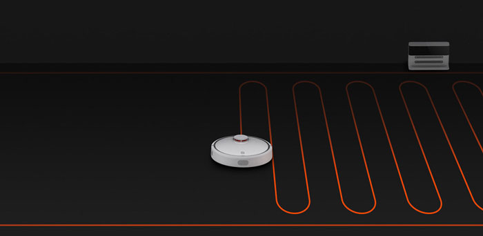 Xiaomi Smart Robot Vacuum Cleaner smart router