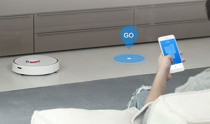 Xiaomi Smart Robot Vacuum Cleaner - Intelligent Route Planning