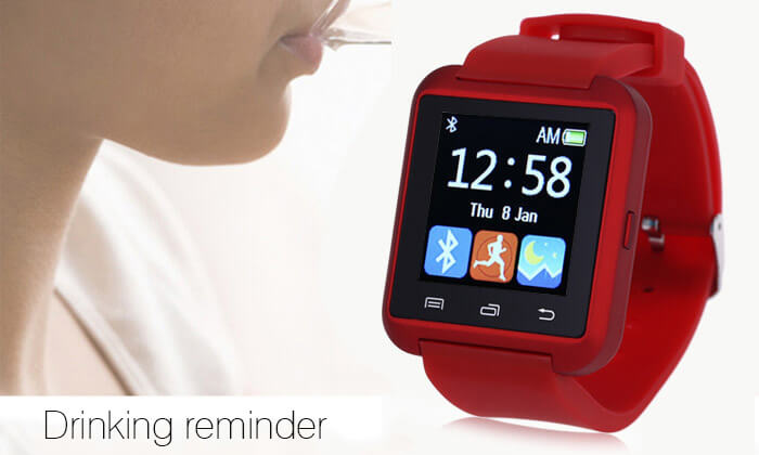 71e5f116b17 The watch will display notifications on incoming calls and messages and can  be easily connected to your phone to sync contacts information and more.