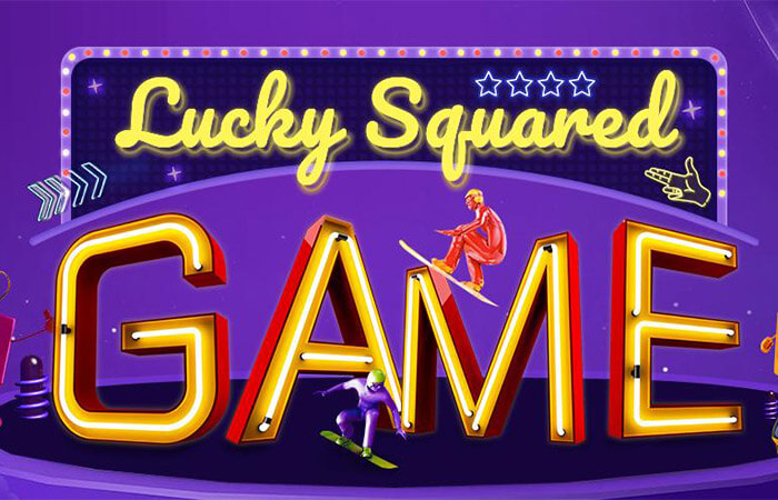 Lucky squared game