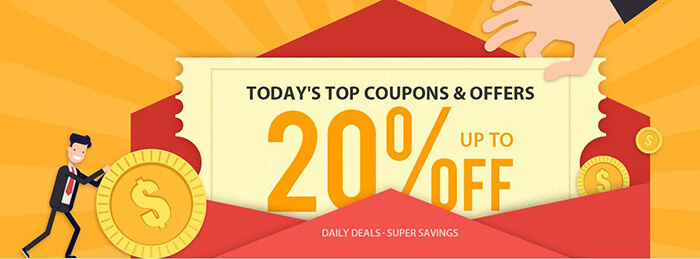 today's top coupons & offers