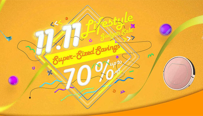 Gearbest 11.11 lifestyle gadgets sale