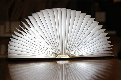 Lamp Design Foldable Practical Zbole Made ReviewCreative Book nPXwk80O