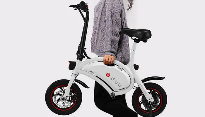 the lightweight of DYU electric bike