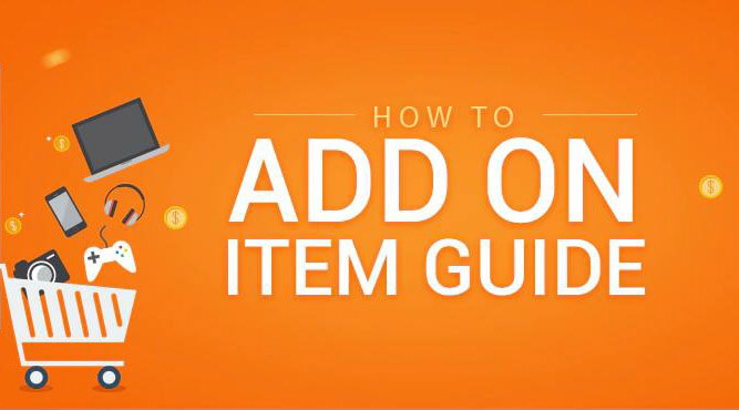add on item guide