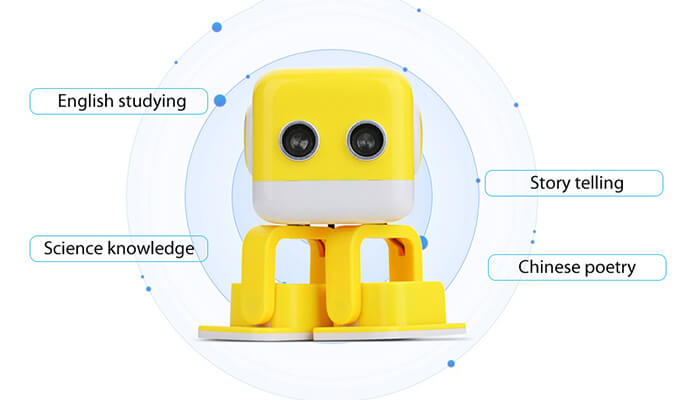 the educational function of TurBowing Cubee F9 Robot