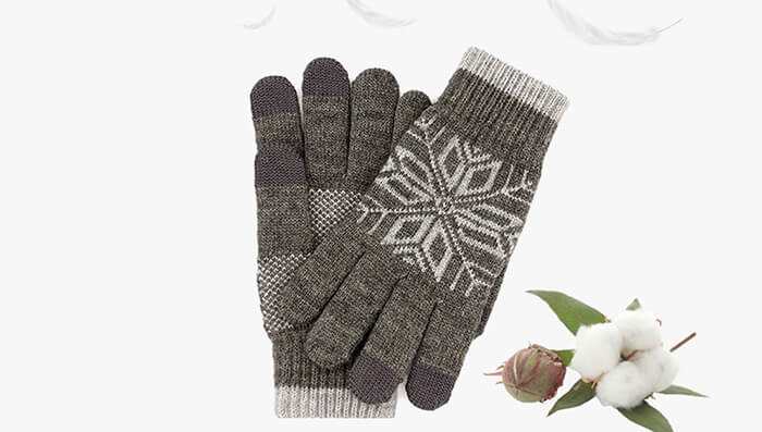 made in classic grey and crafted from a balanced mix of cashmere and wool the gloves are perfectly stylish the best thing is of course the touchscreen