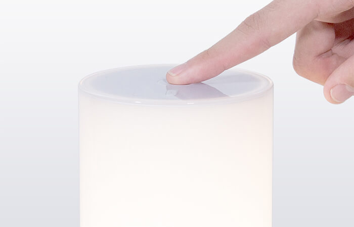 the fun touch control on Xiaomi Bedside Lamp