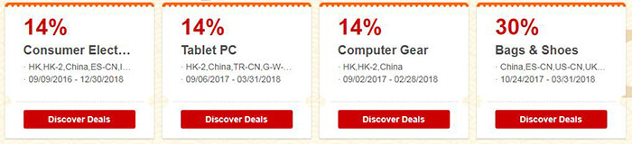 Chinese New Year sale - shopping with value coupons and up to 70