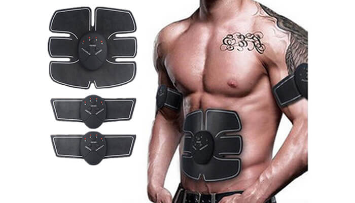 Beauty & Health Hot Healthy Smart Abdominal Muscle Trainer Sticker Gym Abs Muscle Stimulator Pad Fitness Arm Sticker Electric Pulse Stickers Traveling